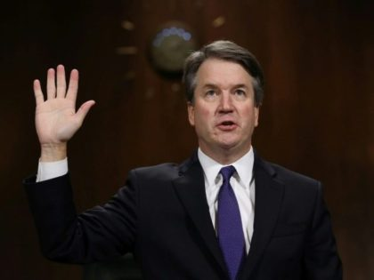 Brett Kavanaugh, shown here testifying to the Senate Judiciary Committee, is expected to be confirmed as the next Supreme Court justice in a Senate vote