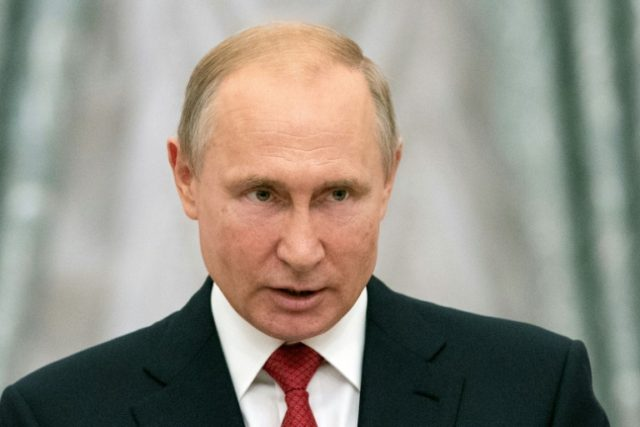 Russian trust in Putin plunges to 39 percent
