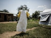 Fear is growing of Ebola response workers in strife-torn regions of DR Congo -- including when workers enter communities wearing hazmat suits