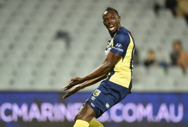 It was Bolt's first start since joining the A-League club in August for an indefinite trial