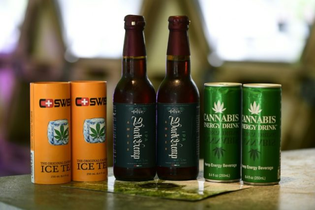 Pot: a new golden goose for the booze biz?