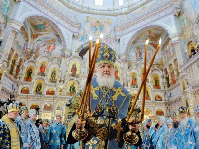 Russia's Patriarch Kirill blasts 'schismatic' Constantinople church