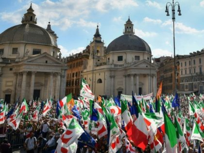 Moody's downgrade of Italy came after markets closed, but Rome's budget dispute with Brussels weight on shares all week