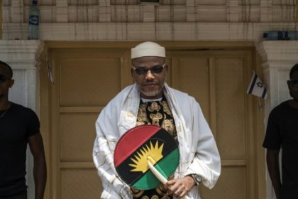 Biafran separatist leader Nnamdi Kanu says he has escaped to Israel