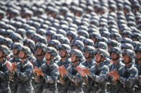 China's People's Liberation Army is believed to be developing land-based intermediate-range missiles capable of carrying nuclear payloads -- weapons that the US and Russia have agreed not to build under a bilateral treaty signed in the 1980s
