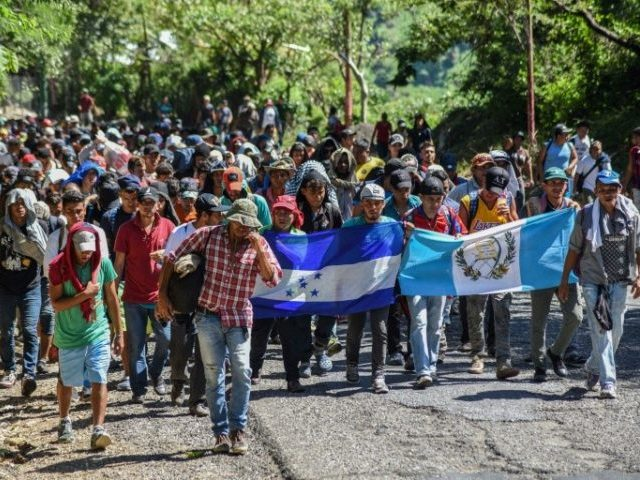 Donald Trump: Why Are Caravan Migrants Waving Their Countries' Flags?