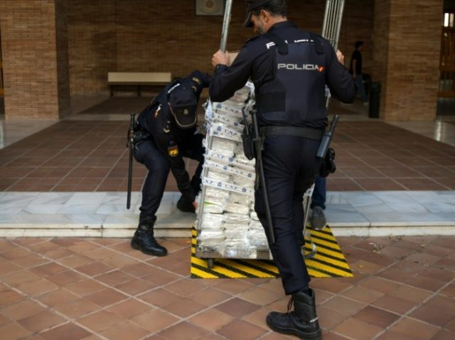 Spain's police seize massive cocaine haul in banana cargo