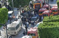 Woman suicide bomber wounds 9 in Tunis: ministry