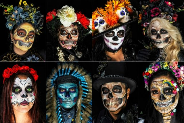 In Mexico, skull faces to scare away US-style Halloween