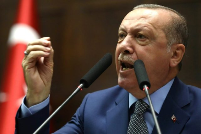 Turkish president threatens to target US-backed Kurdish fighters