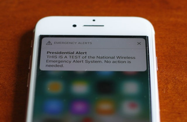 Emergency alert test sounds off on mobile phones nationwide