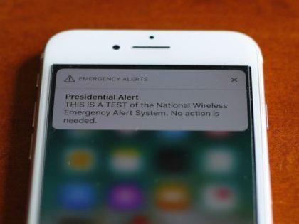 Emergency alert test sounds off on mobile phones nationwide