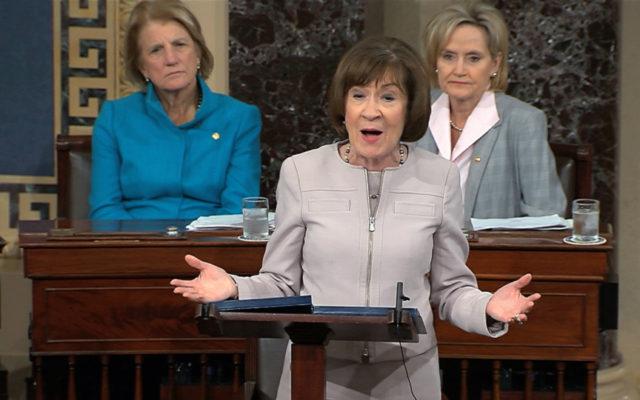 Two Republican senators, two divergent paths on Kavanaugh