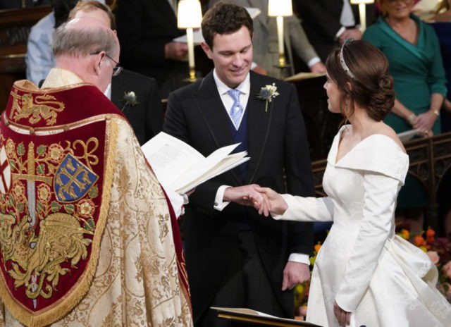 Princess Eugenie weds her beau at Windsor Castle