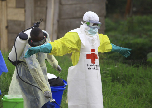 Africa recorded almost 600 cases of infection with Ebola virus