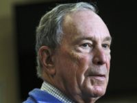 In this Oct. 13, 2018 file photo, former New York City Mayor Michael Bloomberg speaks at a Moms Demand Action gun safety rally at City Hall in Nashua, N.H. A political committee backed by billionaire and former New York City Mayor Michael Bloomberg is spending nearly $9 million to help …