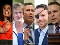U.S. Military Veterans: Martha McSally, Wendy Rogers, Mike Waltz, Dan Crenshaw, and Scott Perry