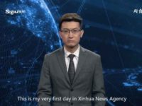 Chinese AI anchor on Xinhua