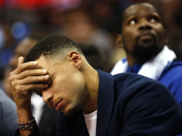 Warriors Guard Stephen Curry Gets In Car Crash With