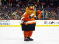 Antifa Uses Flyers Mascot 'Gritty' to Protest Proud Boys in Philadelphia