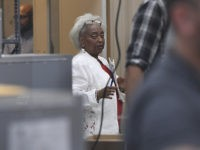 LAUDERHILL FL - NOVEMBER 13: Dr. Brenda Snipes looks on as Election Workers count early vote ballots at The Broward County Supervisor Of Elections Office during the Florida Recount on November 13, 2018 in Lauderhill, Florida. Credit: mpi04/MediaPunch /IPX