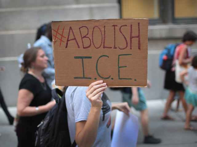 Abolish ICE sign
