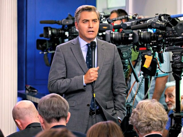 White House bars CNN reporter after heated Trump exchange