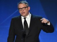 SANTA MONICA, CA - JANUARY 17: Director Adam McKay accepts the Best Comedy award for 'The Big Short' onstage during the 21st Annual Critics' Choice Awards at Barker Hangar on January 17, 2016 in Santa Monica, California. (Photo by Kevin Winter/Getty Images)