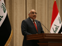 Adel Abdul Mahdi, the new prime minister, addresses the Iraqi parliament during the vote on the new government, October 24, 3018 in Baghdad. - The Iraqi parliament on Thursday approved 14 new cabinet ministers proposed by prime minister-designate Adel Abdel Mahdi, even as key portfolios such as defence and interior …