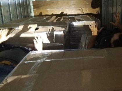 Border Patrol agents find six illegal aliens hiding in tractor-trailer between Laredo and San Antonio. (Photo: U.S. Border Patrol/Laredo Sector)