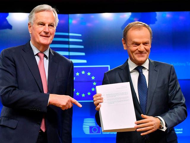 Barnier Tusk
