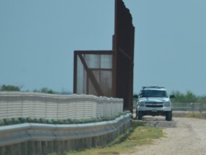Existing border barriers in Rio Grande Valley Sector to be replaced with concrete levee wall and 18-foot bollard wall. (File Photo: Bob Price/Breitbart Border/Cartel Chronicles)
