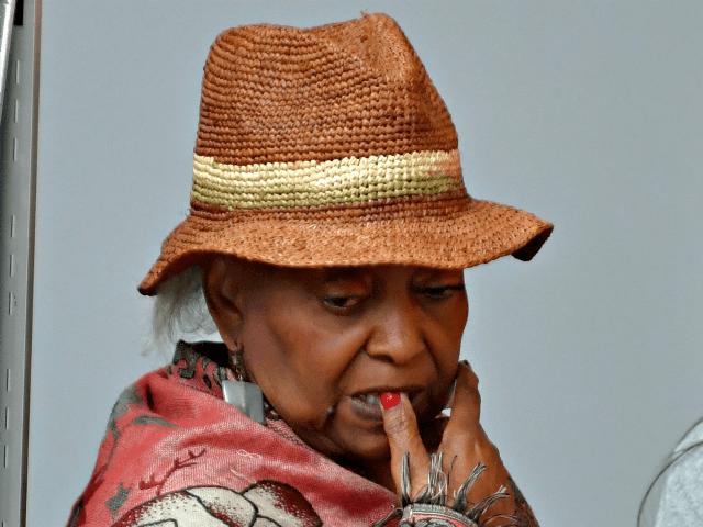 Brenda Snipes in Hat