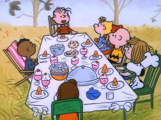 A Charlie Brown Thanksgiving was accused of racism by some social media users Thursday due to where Franklin, the only black character, is seated at the dinner table.