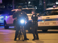CHICAGO, IL - NOVEMBER 19: Police secure an area around Mercy Hospital after a gunman opened fire on November 19, 2018 in Chicago, Illinois. A police officer, the gunman and at least two hospital workers were killed during the incident. (Photo by Scott Olson/Getty Images)