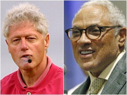Collage-Bill-Clinton-cigar-Mike-Espy-smile-getty-ap