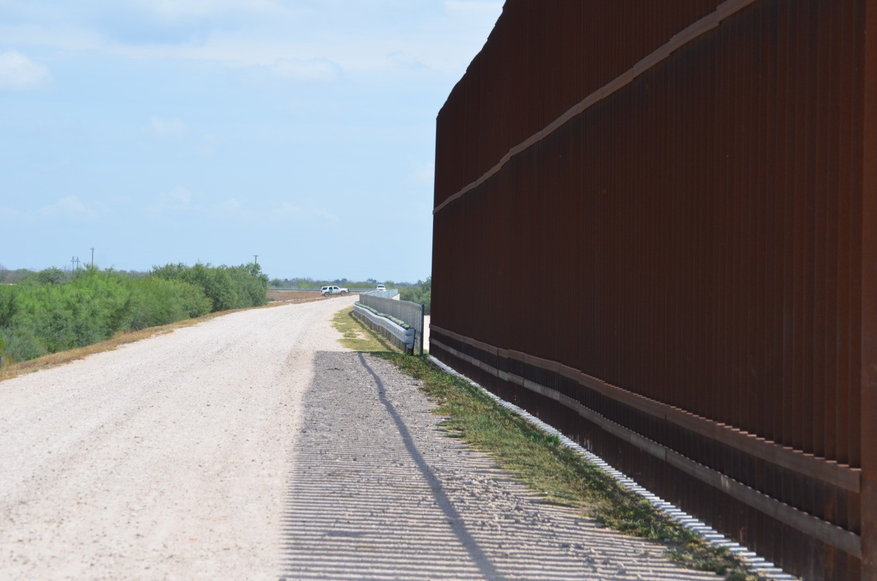 Image result for Border Wall Construction Project in Rio Grande Valley