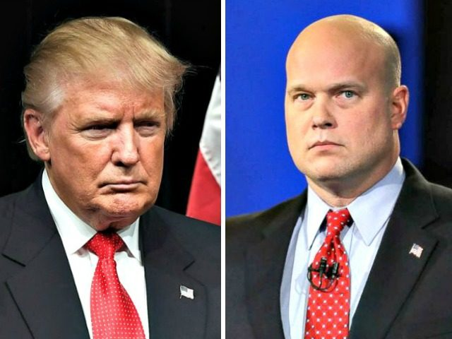 Donald Trump, Matthew Whitaker