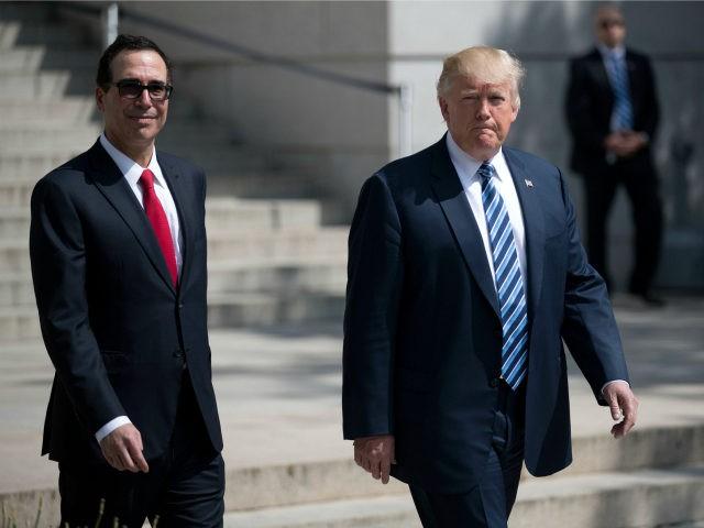 Trump backs Mnuchin after reports of dissatisfaction