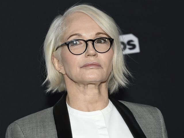 Ellen Barkin attends the Turner Networks 2018 Upfront at One Penn Plaza on Wednesday, May 16, 2018, in New York. (Photo by Evan Agostini/Invision/AP)