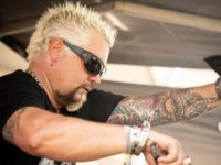 Celebrity Chef Guy Fieri Serves Meals to First Responders in California