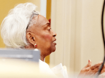Broward County Supervisor of Elections Dr. Brenda Snipes, the center of a recount controversy in Florida's 2018 vote, resigned her position Sunday. Photo by Gary Rothstein/UPI