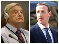George Soros and Mark Zuckerberg