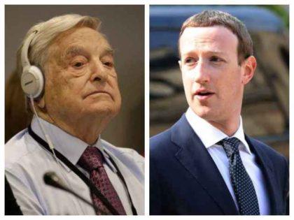 George Soros and Mark Zuckerberg