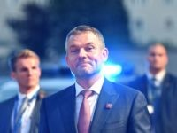 Slovakia's Prime Minister Peter Pellegrini arrives at the Felsenreitschule prior to their informal dinner as part of the EU Informal Summit of Heads of State or Government in Salzburg, Austria on September 19, 2018. (Photo by JOE KLAMAR / AFP) (Photo credit should read JOE KLAMAR/AFP/Getty Images)