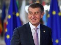 Czech Republic's Prime Minister Andrej Babis arrives at the European Council in Brussels on October 18, 2018. - European Union leaders meet for a summit focused on migration and internal security, after reviewing the state of the Brexit negotiations with Britain. (Photo by EMMANUEL DUNAND / AFP) (Photo credit should …