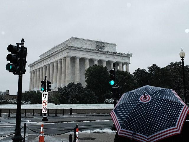 Washington, D C  Hit with First Measurable November Snowfall