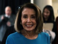WASHINGTON, DC - NOVEMBER 28: U.S. House Minority Leader Rep. Nancy Pelosi (D-CA) leaves after a session of House Democrats organizational meeting to elect leadership at the Capitol Visitor Center Auditorium November 28, 2018 in Washington, DC. House Democrats have elected Rep. Hakeem Jeffries (D-NY) to be the new House …