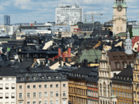 A view of buildings in Stockholm's Old Town, on August 24, 2012. AFP PHOTO / JONATHAN NACKSTRAND (Photo credit should read JONATHAN NACKSTRAND/AFP/Getty Images)