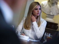 WASHINGTON, DC - JUNE 26: Ivanka Trump, daughter and assistant to U.S. President Donald Trump, attends a lunch meeting with Republican lawmakers in the Cabinet Room at the White House June 26, 2018 in Washington, DC. The president called the Supreme Court's 5-4 ruling in favor of the administration's travel …